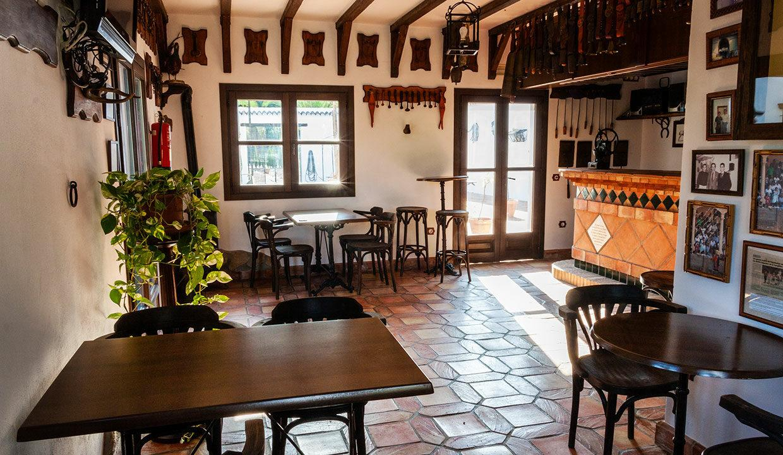 Andalusisches Cortijo Hotel Pferdehaltung